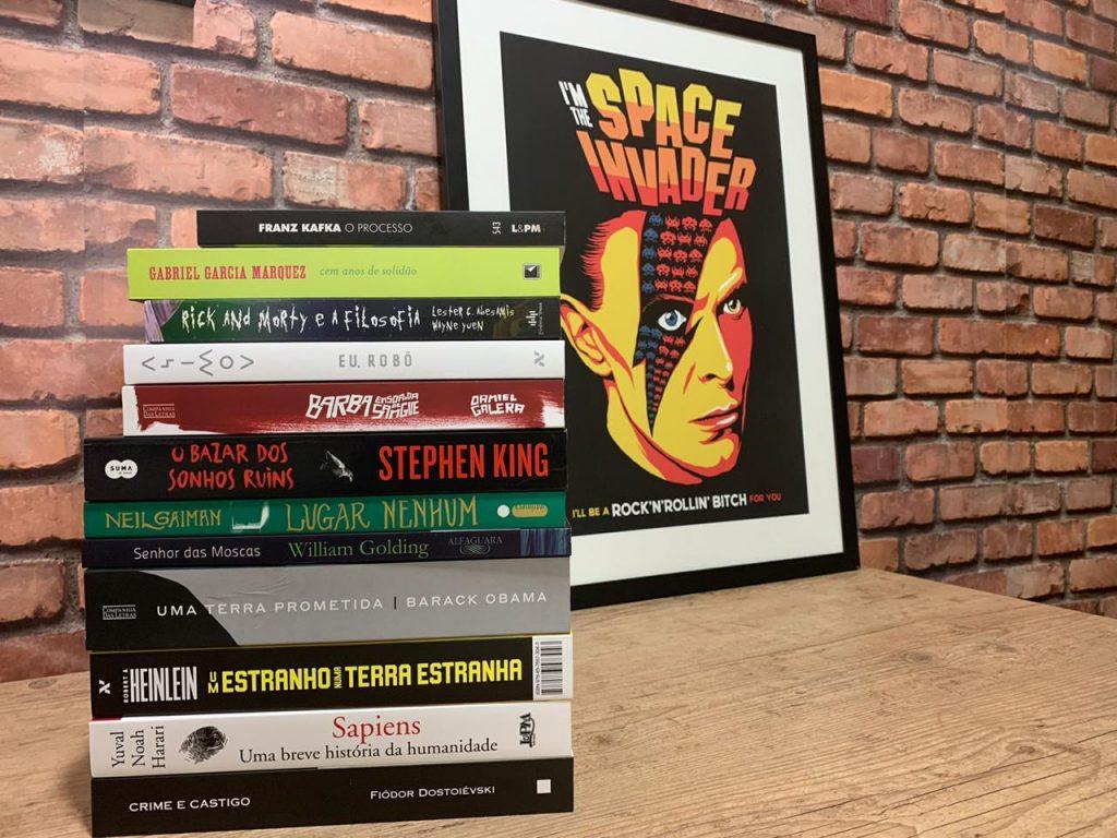 12 livros pra ler em 2021